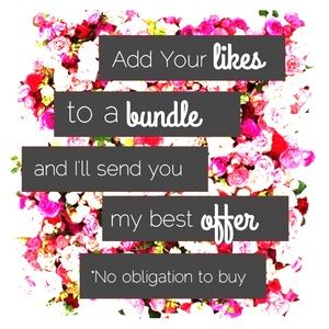 Other - 🎁 Like it, Bundle it, & Make an offer 🎁
